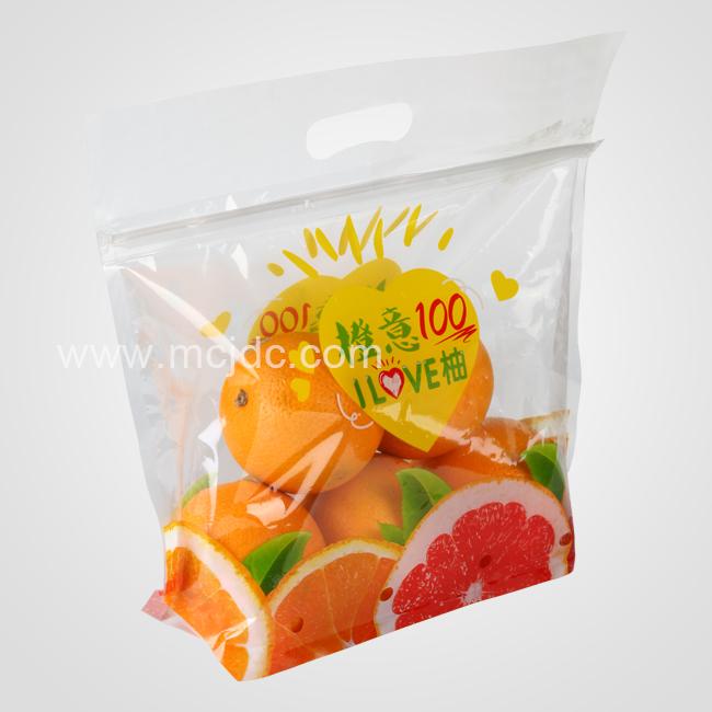 橙子坚果用食品袋